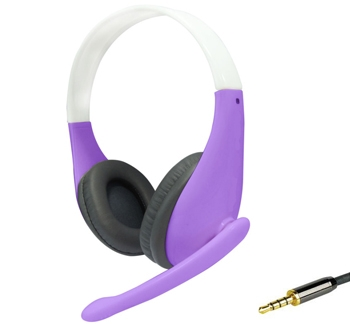 Headphone with Mic and Single Connector