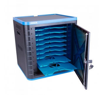 Charging Cart in 10 Bays USB Port with Sync and Charge