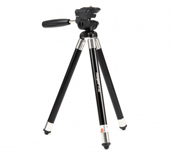 Compact Travel Tripod 8 Sections in Black