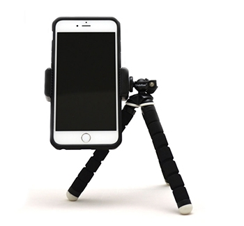 Smartphone Tripod Mount and Flexible Tripod Combo