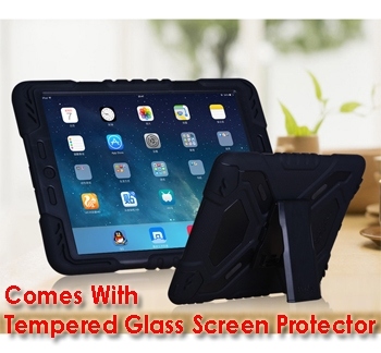 iPad Pro 9.7 Tough Case and Glass Screen Protector Combo